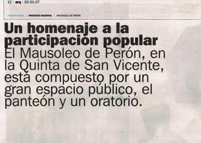 2007.01.02 Clarín