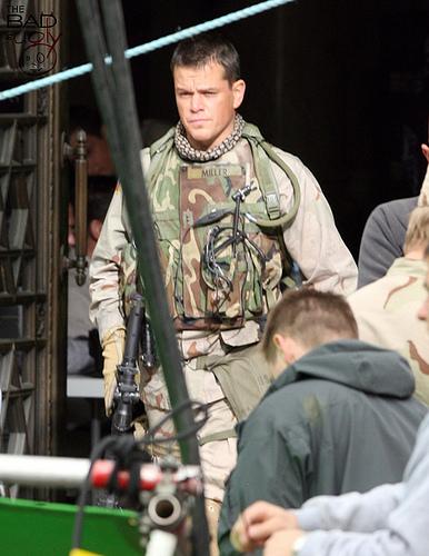 Matt Damon in Green Zone 3