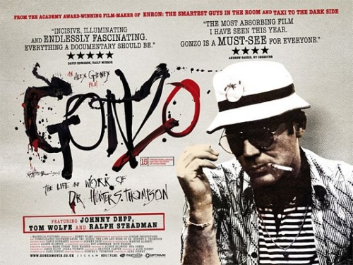 Gonzo UK poster