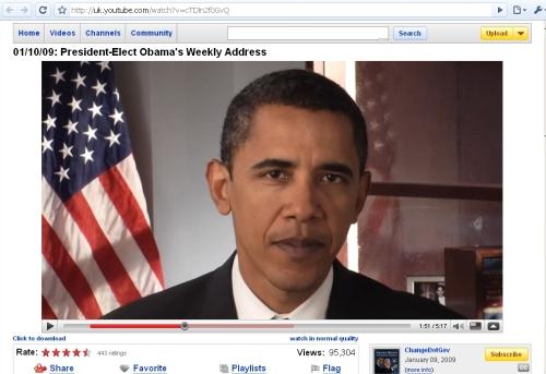 Obama address in HD