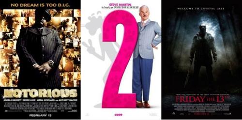 UK Cinema Releases 13-02-09