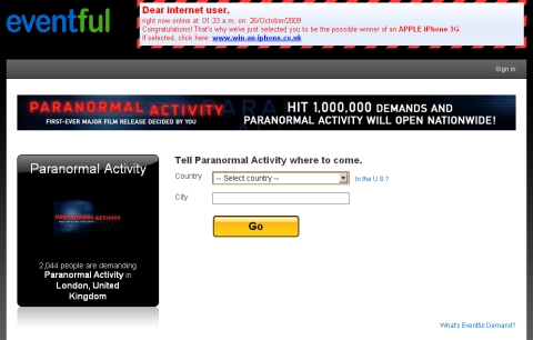 Eventful - Paranormal Activity