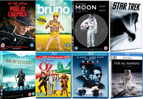 DVD and Bluray Releases November 2009