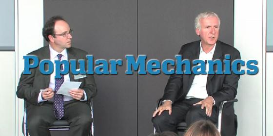 James Cameron Accepts Popular Mechanics Award