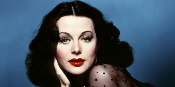 Hedy Lamarr in colour
