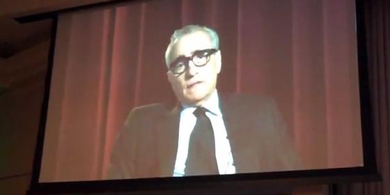 Martin Scorsese at Blu-con
