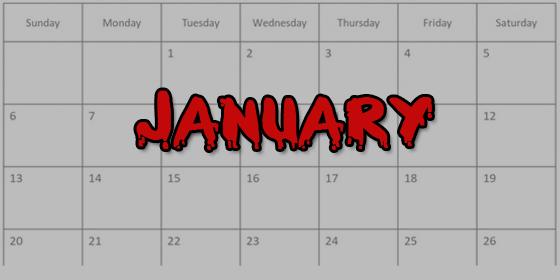January Backlog 2013