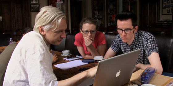 Julian Assange in We Steal Secrets