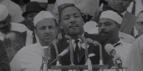 MLK at March on Washington
