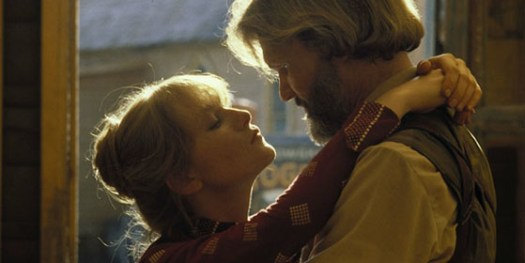 Isabelle Huppert and Kris Kristofferson in Heaven's Gate