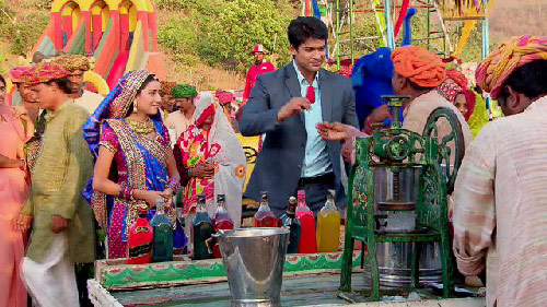 Anandi ve shiv evleniyor