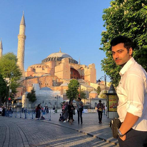 harshard-arora-istanbul ziyareti