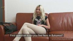 Fake Agent Casting Romanian Julia porno cu romance HD .