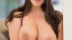 Big Natural Tits Australian Babe Fucks BBC porno HD 2015 .