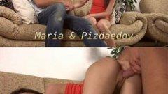 Defloration Maria Brilska porno cu virgine HD .