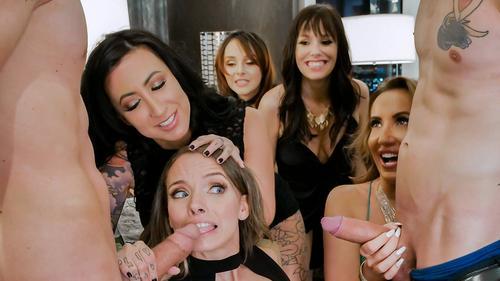 Alana Cruise si Cytherea petrecere orgie sex in hotel HD . 1
