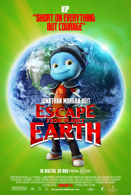 escape from planet earth character poster Kip 68316