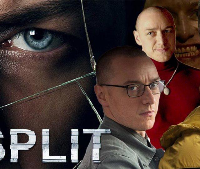 Split Movie Poster Custom  Personalities