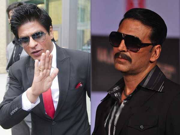 The war ends between SRK and Akshay