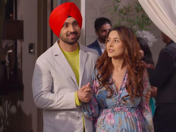 Diljit Dosanjh and Shehnaaz Gill's Honsla Rakh trailer is a laughter fest