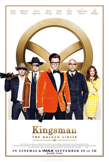 [Film Poster] Kingsman: The Golden Circle