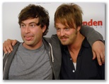 CineVegas11 - FFT Photo Coverage -- Actors MARK DUPLASS AND JOSHUA LEONARD OF HUMPDAY