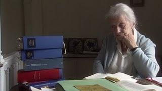Svetlana Geier working on her translations