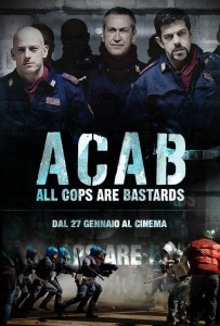 a.c.a.b. locandina film