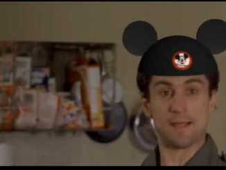 taxi driver mickey mouse