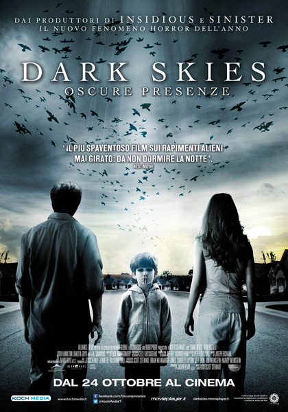locandina dark skies
