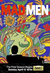 Poster mad men 7 stagione