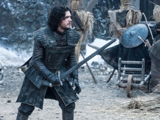 """Game of Thrones Season 4. Sky Atlantic HD..Episode 4 """"Oathkeeper""""..Jon Snow..Dany balances justice and mercy. Jaime tasks Brienne with his honor. Jon secures volunteers while Bran, Jojen, Meera and Hodor stumble on shelter."""