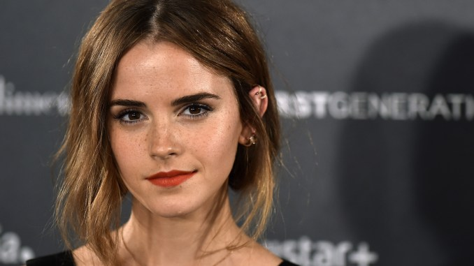 "English actress Emma Watson poses during the photocall of Hispano-Chilean director Alejandro Amenabar's movie ""Regression"" in Madrid on August 27, 2015. AFP PHOTO/ GERARD JULIEN (Photo credit should read GERARD JULIEN/AFP/Getty Images)"