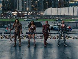 Una scena di Justice League