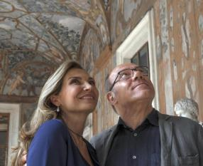 Benedetta follia di Carlo Verdone (foto di scena e backstage