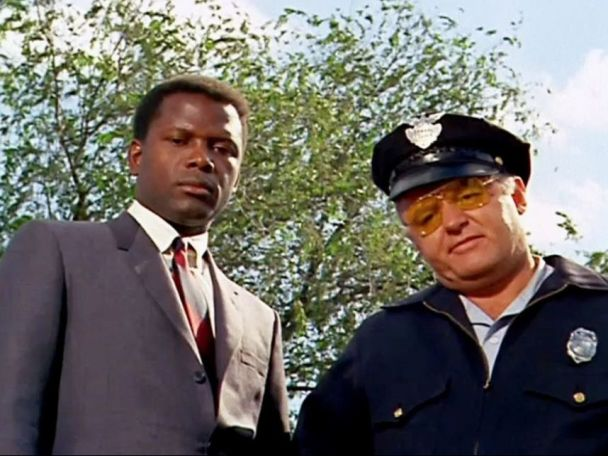 Image result for in the heat of the night 1967 steiger and poitier
