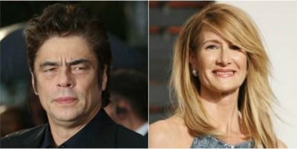 Benicio Del Toro en Laura Dern
