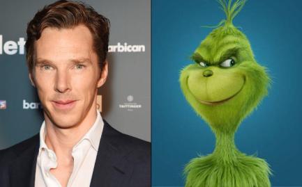 Benedict Cumberbatch is de nieuw Grinch