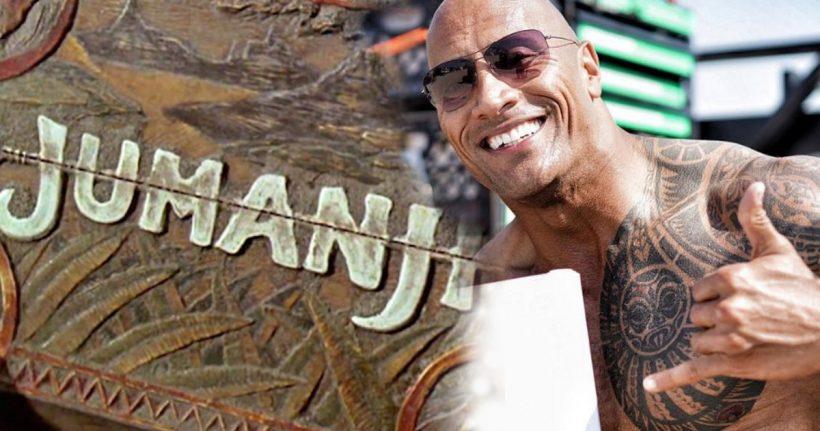 Dwayne Johnson officieel in Jumanji