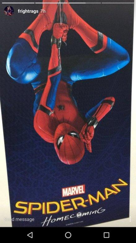 Eerste poster Marvel's Spider-Man: Homecoming
