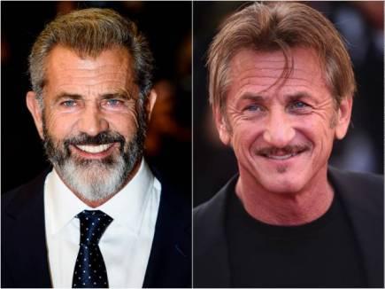 Sean Penn en Mel Gibson in The Professor And The Madman
