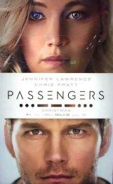 Nieuwe poster Passengers met Jennifer Lawrence en Chris Pratt