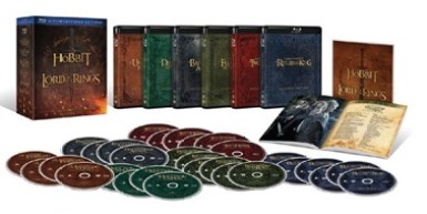 Middle-Earth 6-film collectie vanaf 9 december op Blu-Ray en DVD