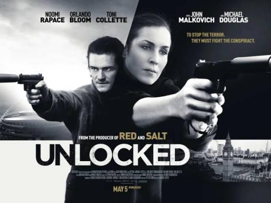 Nieuwe trailer Unlocked met Noomi Rapace en Orlando Bloom
