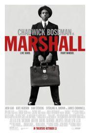 Chadwick Boseman op nieuwe Marshall poster