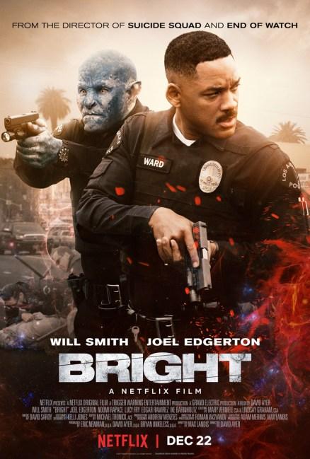 Nieuwe poster Netflix's Bright