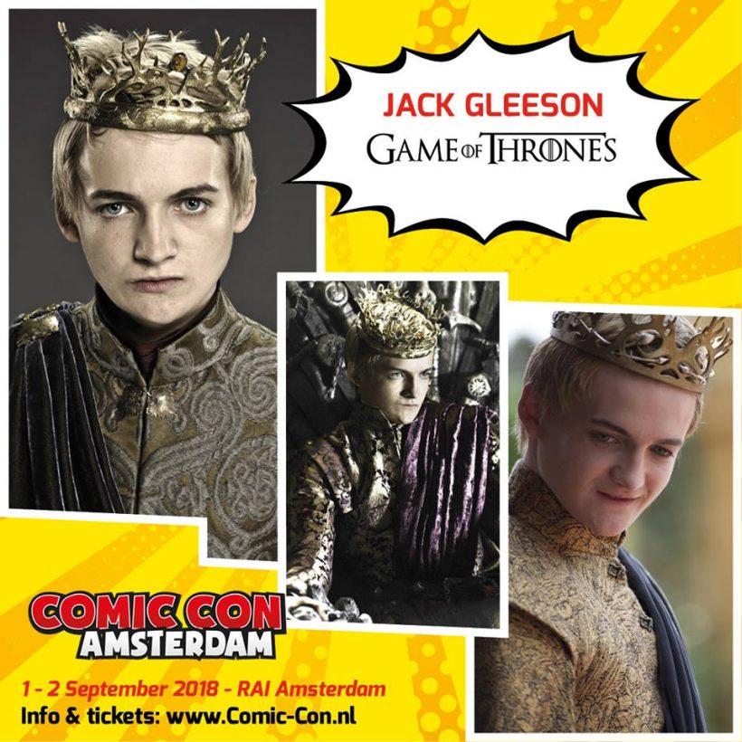Jack Gleeson Komt naar Comic Con Amsterdam