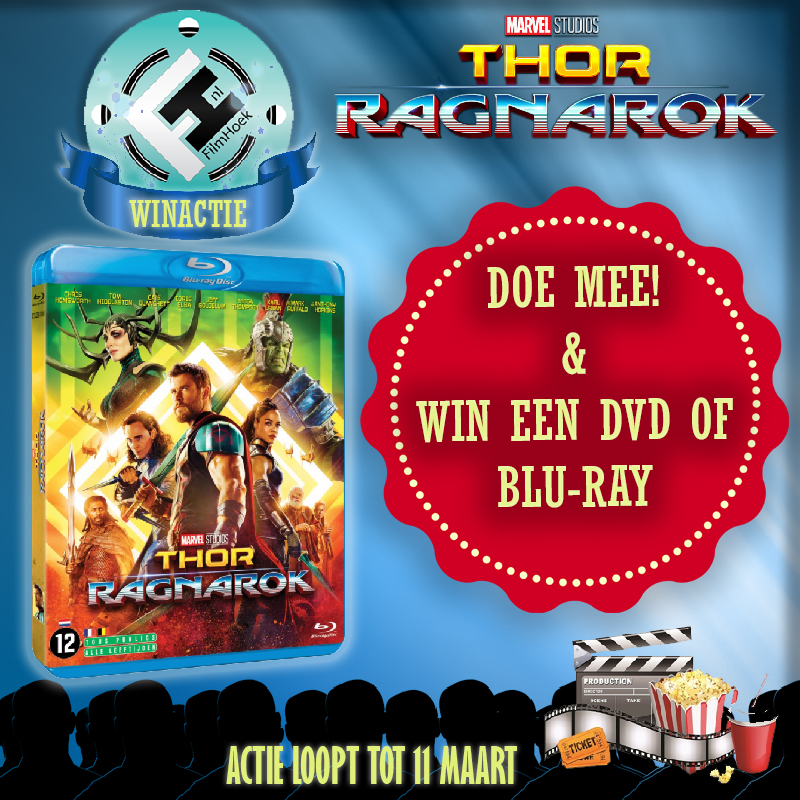 Winactie Thor: Ragnarok DVD