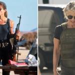 Eerste blik op Linda Hamilton als Sarah Connor in Terminator 6