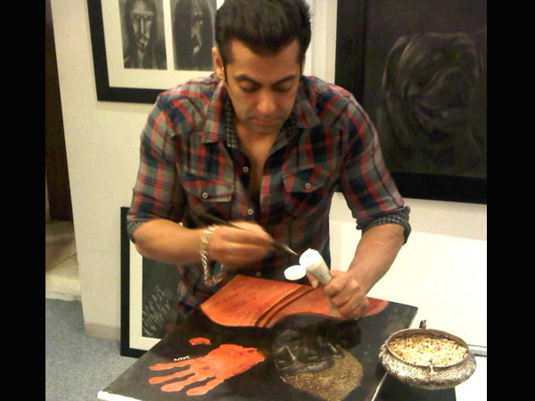 Image result for salman khan paintings for being human
